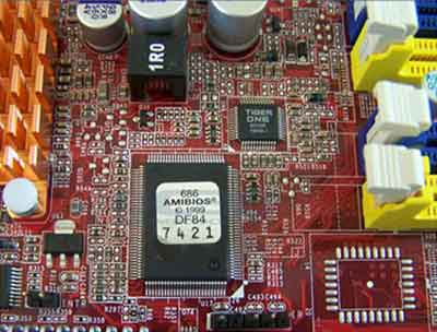 AMI BIOS Motherboard Chip