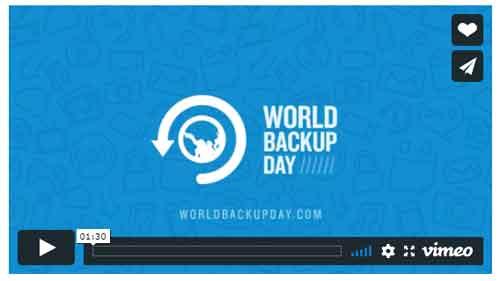 World Backup Day Video