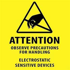 ElectroStatic Discharge (ESD) Warning Notice