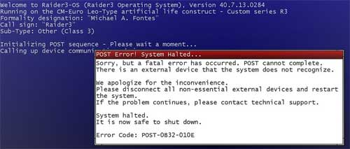 Noting Error Messages Help Identify The Causes of Technical Problems