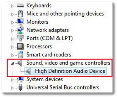 Sound Card Device Driver