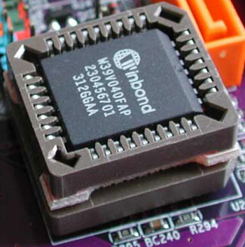 Removable BIOS Chip