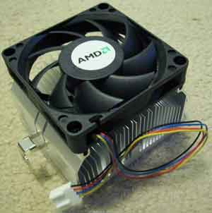 CPU Heatsink and Cooling Fan