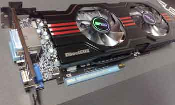 Graphics Card With 2 Cooling Fans