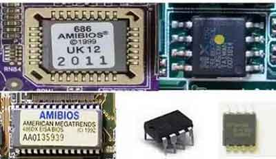 Computer BIOS ROM Chips