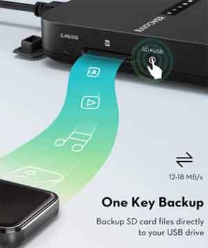 Backup SD Cards Directly