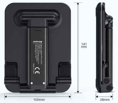 Tablet Stand Dimensions