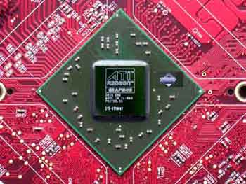 ATI Radeon Video Card Chip