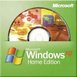 Windows XP Home Edition CD's