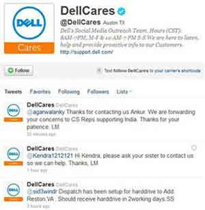DellCares Twitter Feed