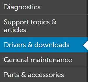 Dell Drivers and Downloads Link