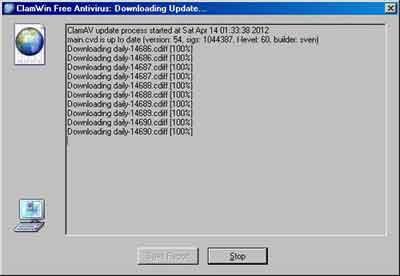 ClamWin Free Antivirus Updates