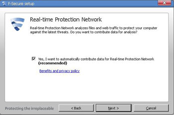 F-Secure Anti Virus 2012 Realtime Protection