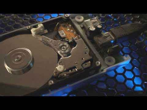 The HDD Click of Death Video