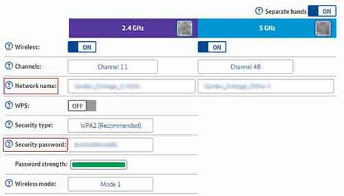 Wireless Key And SSID Changes
