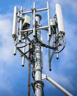 Typical 5G Antenna With Transmitters And Receivers