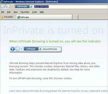 InPrivate Browsing Window