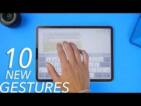 The iPadOS Gestures Video