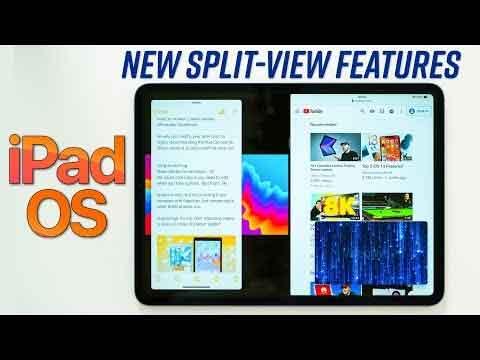 The iPadOS Split Feature Video
