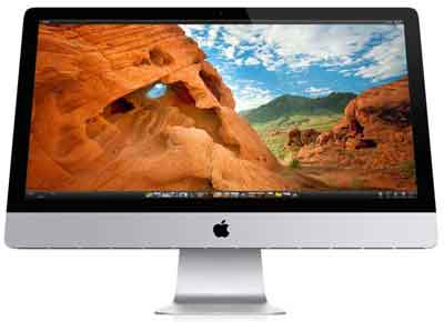 The Apple iMac All-In-One Device