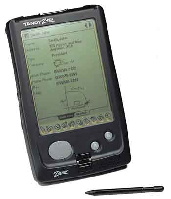 The Tandy Zoomer 500 PDA