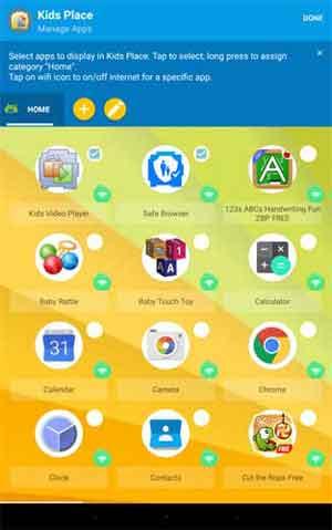 Kids Place Parental Control Android App