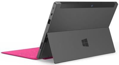 Microsoft Surface Tablet Back View