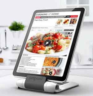 Tablets Are Useful For Displaying Recipes in Kitchens