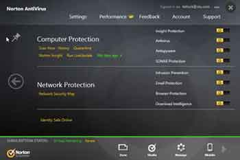 Norton Antivirus Advanced Configuration Options