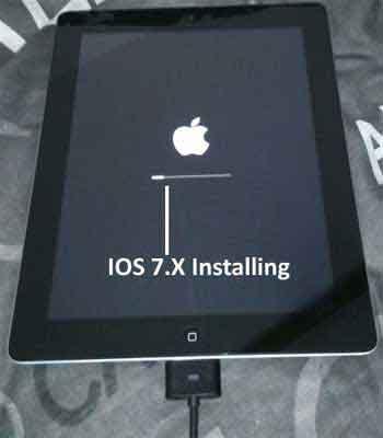 Apple iOS v7 Installing