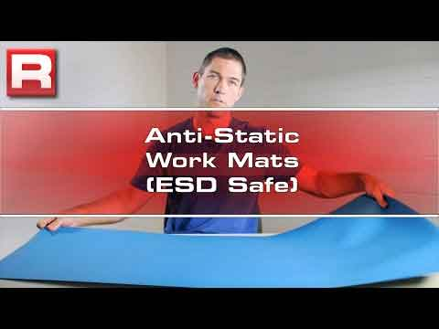 Anti-Static Work Mats Video