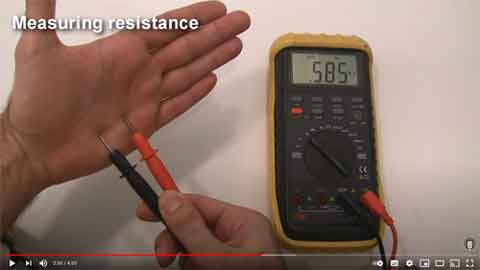 How To Use A Multimeter Video