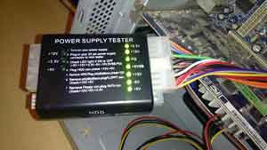 Power Supply Test Results