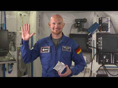 The Astro Pi International Space Station Video