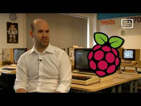 An Interview With The Raspberry Pi Creator Video