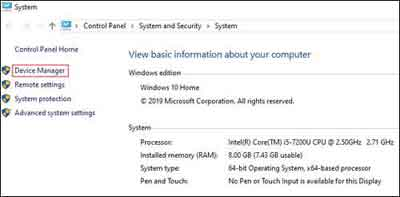 How To Open The Device Manager In Windows 10