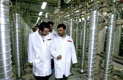 President Mahmoud Ahmadinejad's Visit To The Natanz Nuclear Facility