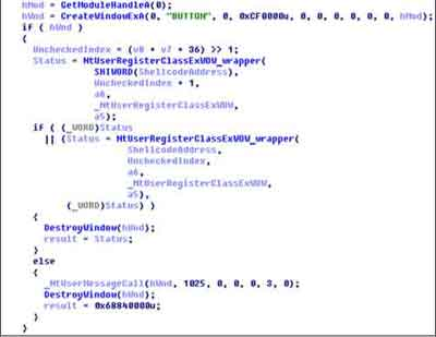An Example Of The Reverse Engineered Code That Enabled Stuxnet To Work