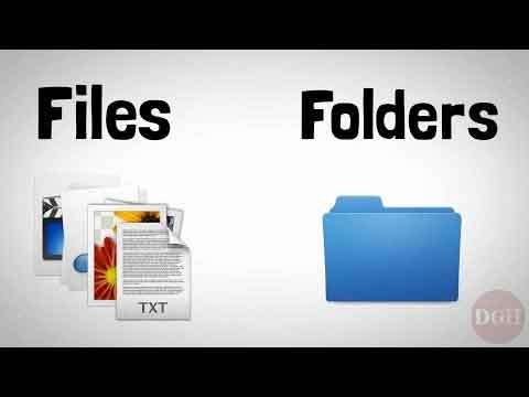 Files And Folders Explained Video