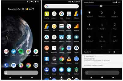 The Android Operating System Screenshots
