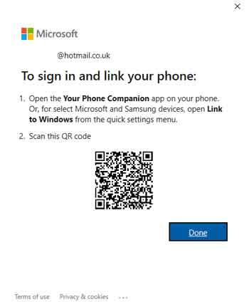 The Windows 10 Integrated Phone App