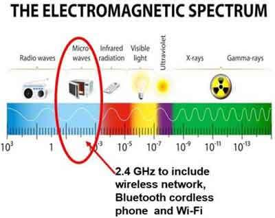 The Electromagnetic Spectrum and Interferences