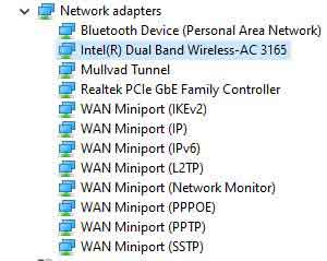 Microsoft Windows Wireless Drivers