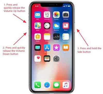 Modern iPhone Forced Reboot Instructions